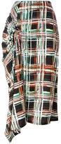 Marni Scribble print midi skirt - women - Viscose - 40