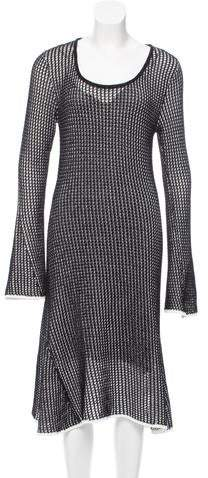 Derek Lam Open Knit Midi Dress w/ Tags