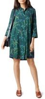 Hobbs London Marci Floral Print Shirt Dress