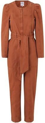 Baum und Pferdgarten Noralee Belted Organic Cotton & Linen Jumpsuit