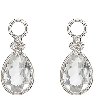 Jude Frances 18k Provence Pear Earring Charms