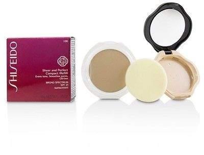 Shiseido NEW Sheer & Perfect Compact Foundation SPF 21 (Case + Refill) - # I00