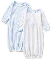 Edgehill Collection Baby Boys Newborn-6 Months 2-Pack Gown