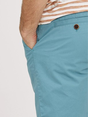 Fat Face Whitby Lightweight Chino Shorts - Blue