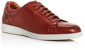 Kenneth Cole Gentle Souls By Gentle Souls by Men's Ryder Leather Low-Top Sneakers