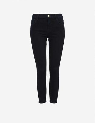 J Brand Ladies Blue Cotton 835 Mid-Rise Skinny Stretch-Denim Jeans, Size: 25