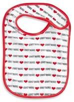 Bed Bath & Beyond Heart New York Baby Bib in White/Red