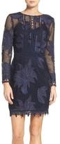 Adelyn Rae Women's Floral Lace Sheath Dress