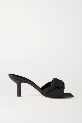 BY FAR Lana Knotted Grosgrain Mules