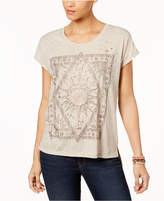Style&Co. Style & Co Foil-Print T-Shirt, Created for Macy's