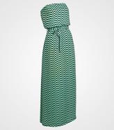 Fred Flare Tulle Chevron Cheryl Maxi Dress