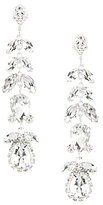 Cezanne Floral Linear Drop Earrings