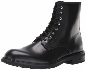 Calvin Klein Men's Keeler Box Leather Combat Boot