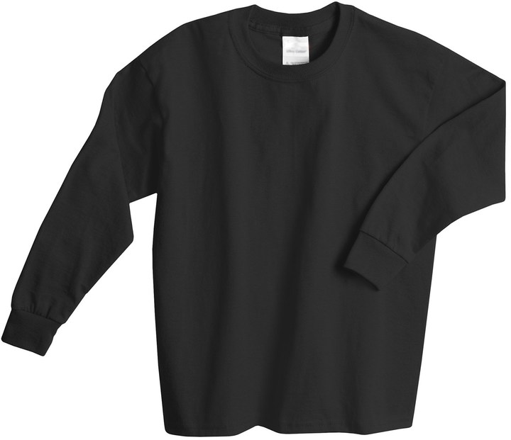 Hanes @Model.CurrentBrand.Name Comfortsoft T-Shirt -, Long Sleeve (For Youth)