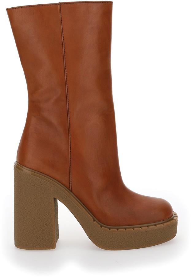 Prada Block-Heel Boots