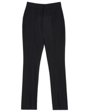 Danielle Bernstein Slit-Front Pants, Created for Macy's