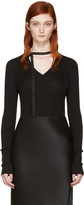 Nina Ricci Black V-neck Sweater
