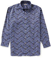Daniel Cremieux Signature Long-Sleeve Printed Woven Shirt