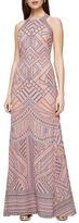 BCBGMAXAZRIA Felicia Burnout Lace Dress
