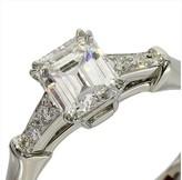 Harry Winston pt950 Platinum Diamond Ring