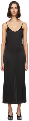 La Perla Black Silk Slip Dress