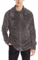 True Grit Men's Pebble Pile Long Sleeve Big Shirt