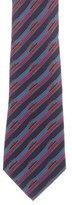 Hermes Silk Boat Print Tie