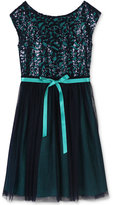 Speechless Sequin-Bodice Tulle Dress, Girls (7-16)