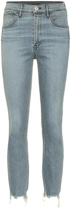 3x1 W3 Authentic cropped high-rise jeans