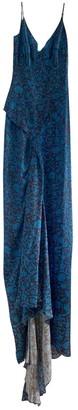 Zac Posen Blue Silk Dresses