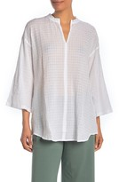 Eileen Fisher Stand Collar Tunic