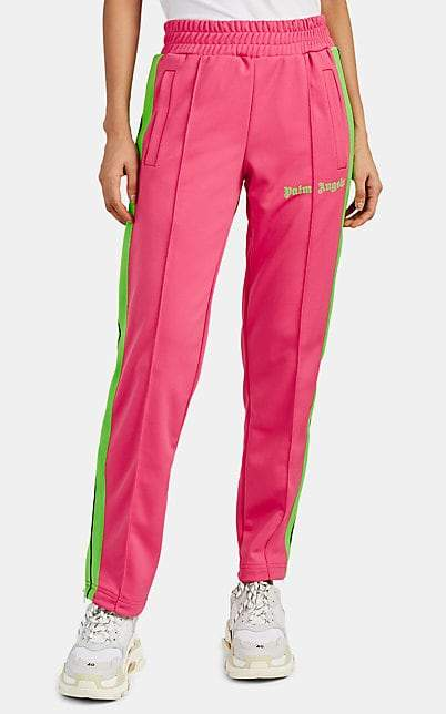 Palm Angels Women's Tech-Jersey Track Pants - Pink