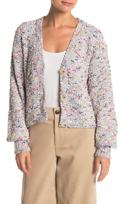 Absolutely Cotton Confetti Marl Cardigan