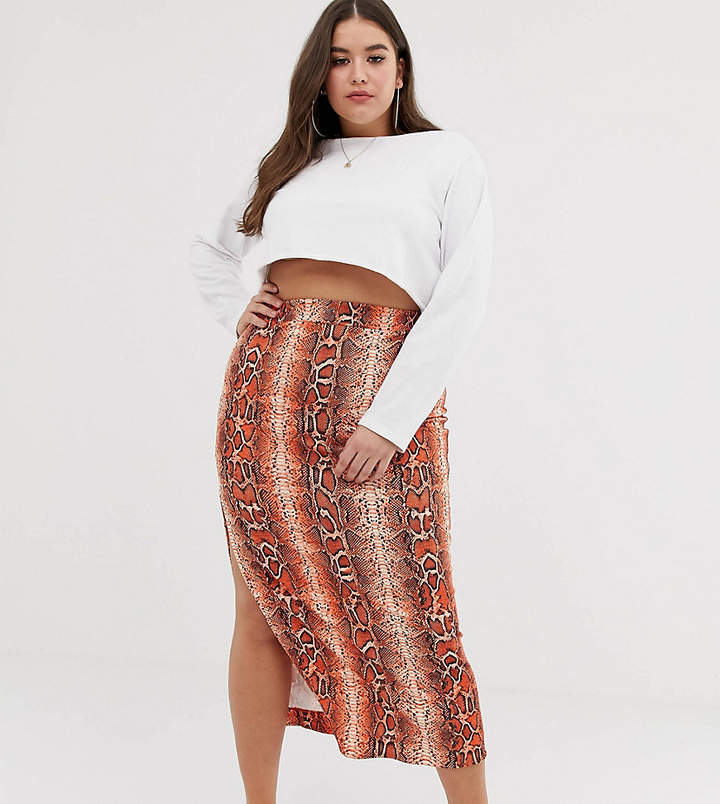 f96d57c5a5 Maxi Skirt With Split - ShopStyle