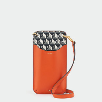 Anya Hindmarch I Am A Plastic Bag Phone Pouch on Strap