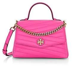 Tory Burch Women's Small Kira Chevron Leather Top Handle Bag