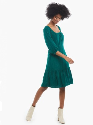 ABLE Betty Puff Sleeve Dress