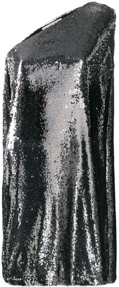 Stella McCartney Sequined One-Shoulder Dress