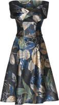 Lena Hoschek Rainforest Off The Shoulder Dress