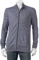 Marc Anthony Big & Tall Slim-Fit Marled Cashmere-Blend Cardigan