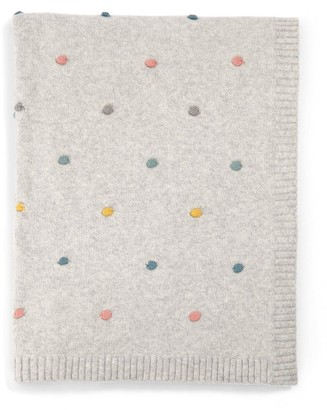 Mamas and Papas Knitted Blanket (70X90Cm) - Spot