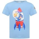 Moncler MonclerBaby Boys Blue Duck Top