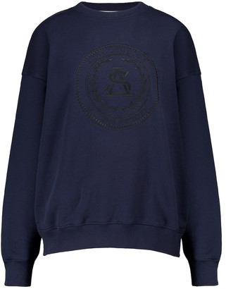 Acne Studios Embroidered cotton sweatshirt