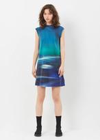 Y-3 aop continuum aop tunic dress