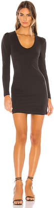 Bobi Date Night Rib Dress