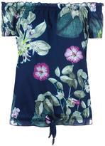 Twin-Set floral print top - women - Cotton - S