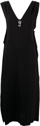 Alyx V-Neck Midi Dress