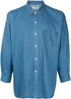 Monkey Time Collared Denim Shirt