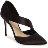 Imagine by Vince Camuto Women's Oya Asymmetrical Pointy Toe Pump