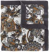 Eleventy floral print scarf